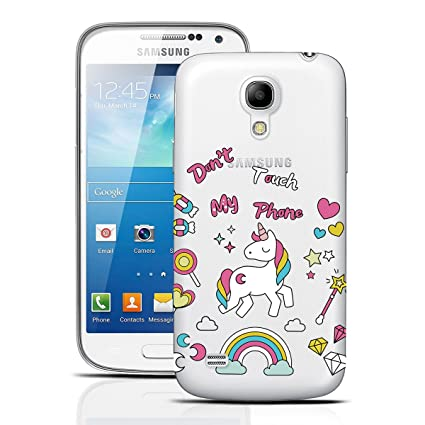 dexnor Samsung Galaxy S4 Mini funda silicona transparente ...