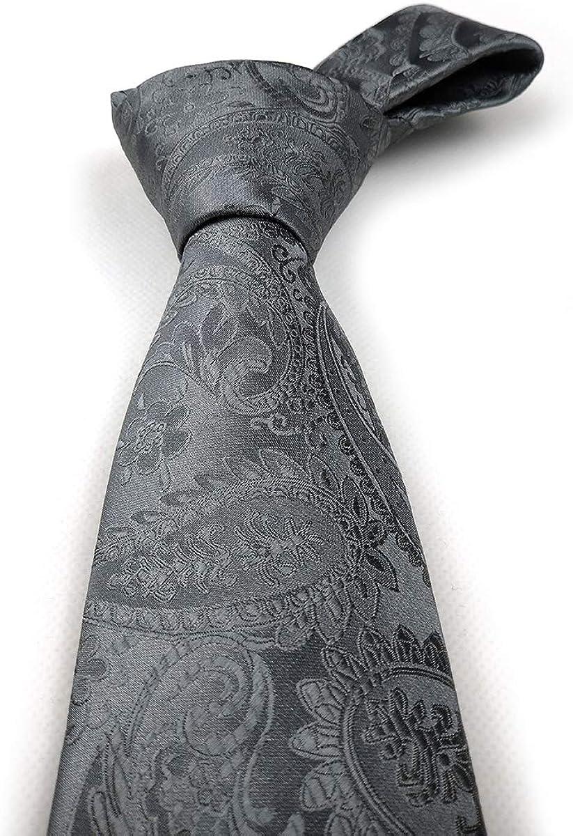 ceremonias 150 cm de largo x 8,5 cm de ancho Juego de paisley para hombre y pa/ñuelo de bolsillo negocios fiestas f/ácil de combinar para bodas