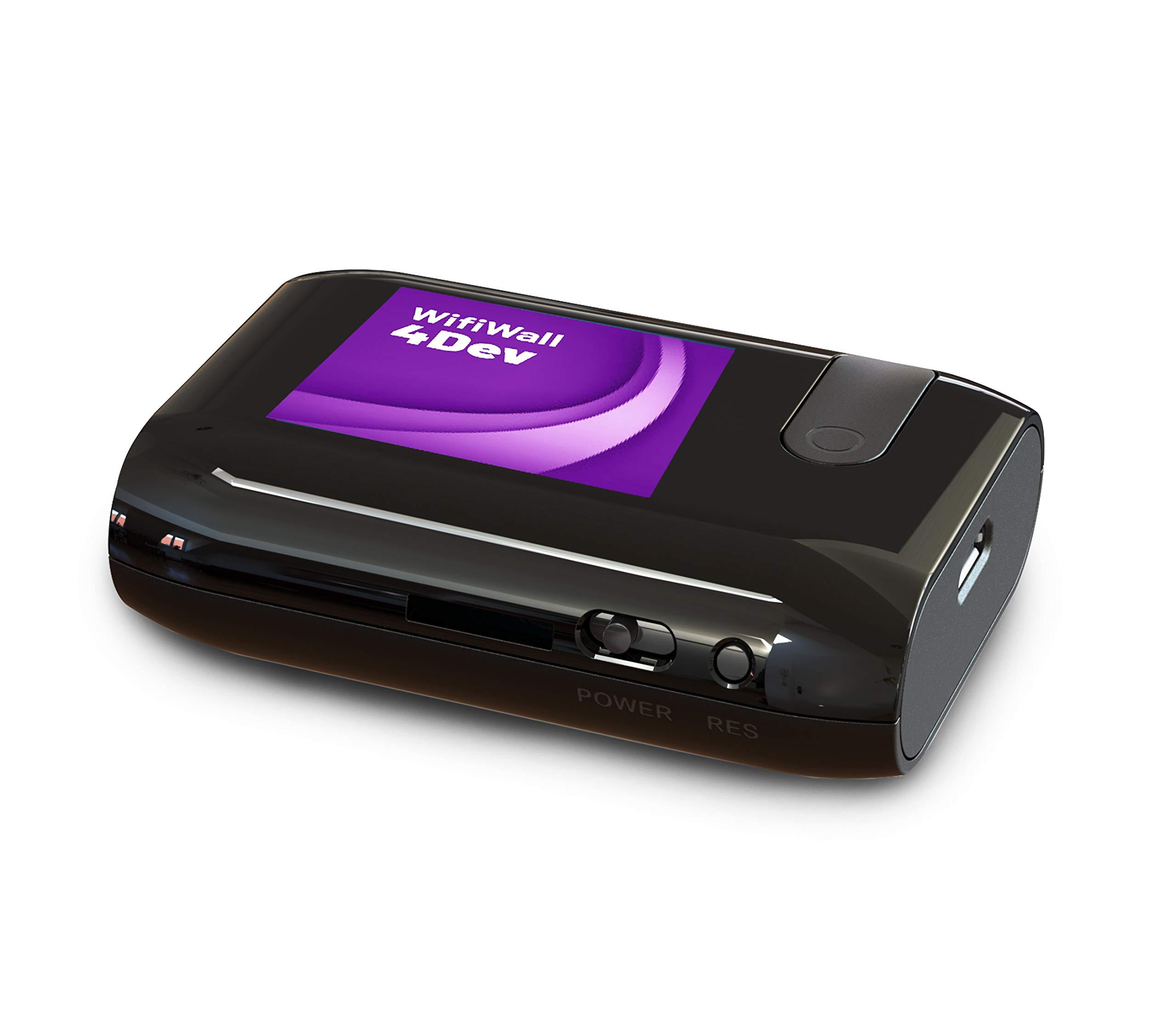 WifiWall 4DEV- ESP 32 con caja profesional | 2.4Ghz W (9P6R)