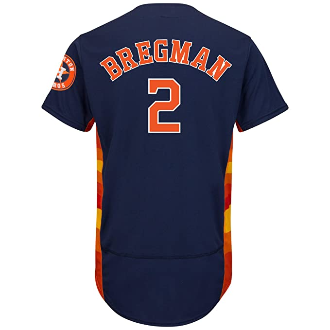 reputable site 70206 03603 Amazon.com: JASONcl Jason Men's Houston #2 Alex Bregman ...