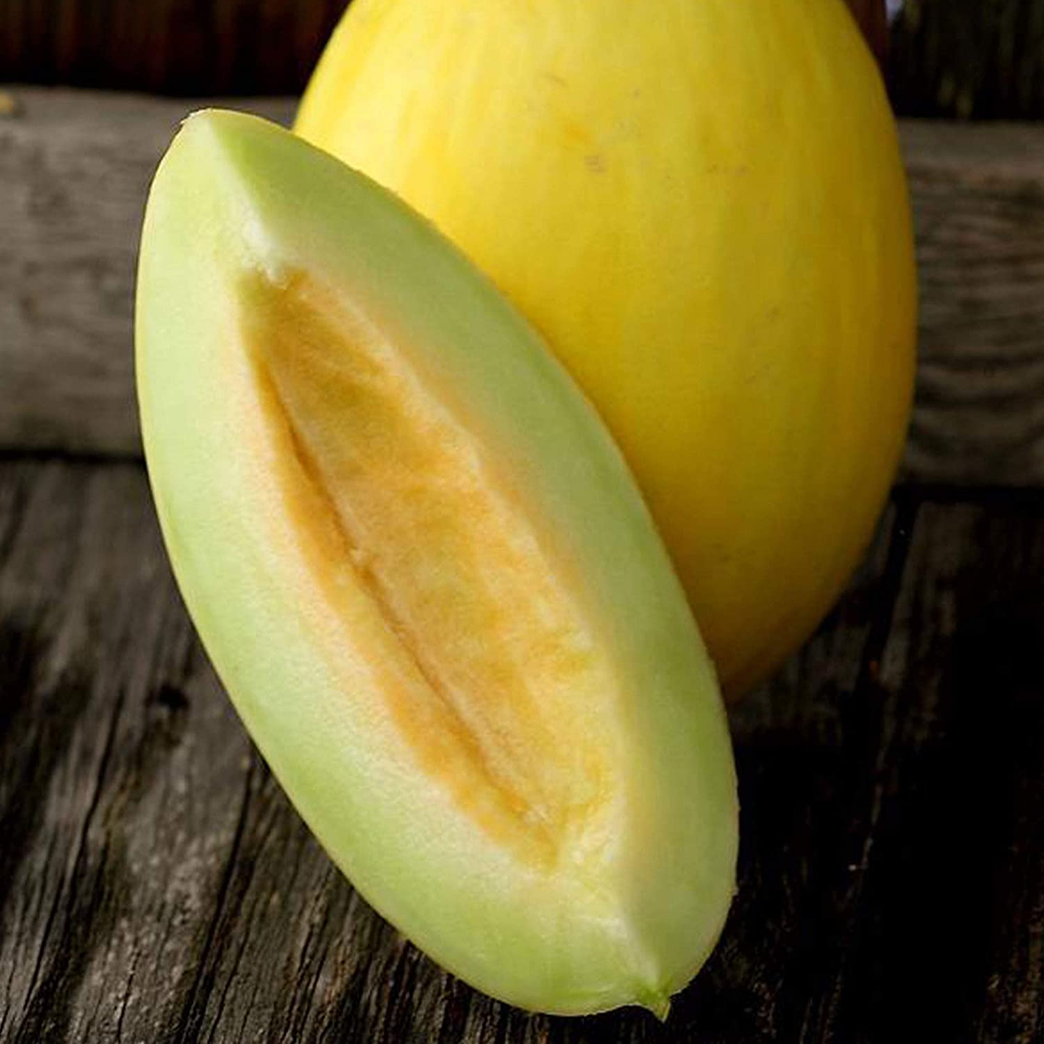 Juane Canary Melon Seeds - 1 g ~35 Seeds - Heirloom, Open Pollinated, Non-GMO, Farm & Vegetable/Fruit Gardening Seeds