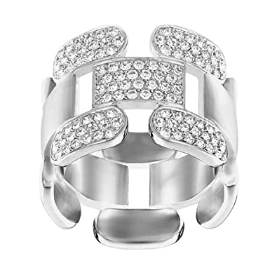 8cb191b45 Image Unavailable. Image not available for. Color: Swarovski Cube Ring