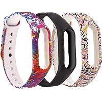 Moretek Braccialetto per Xiaomi Mi Band 2 Cinturino, Protettivo Cinturini di Ricambio per Xiaomi Mi Band 2 Banda Intelligente Bracciale