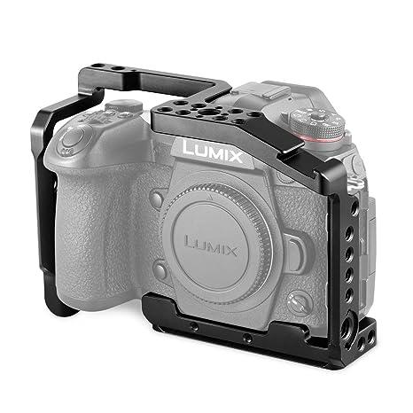 SMALLRIG G9 Cage para Panasonic Lumix G9 con Integrado Cold Shoe y ...