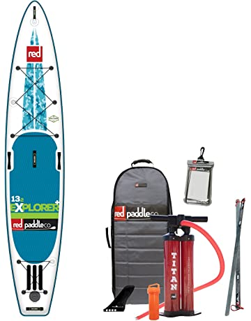 Red Paddle Co 2017 132 Explorer + Inflatable Stand Up Paddle Board + Bag