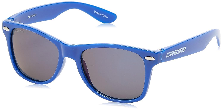Cressi Gafas de Sol Yogi para niños, Unisex, 100% de protección UV, 2-6 años, Azul/Lentes Grises XDB100241