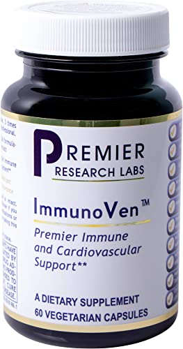 ImmunoVen TM, 60 Capsules, Vegan Product – Olive Leaf Immune Formula for Premier Immune and Cardiovascular Support