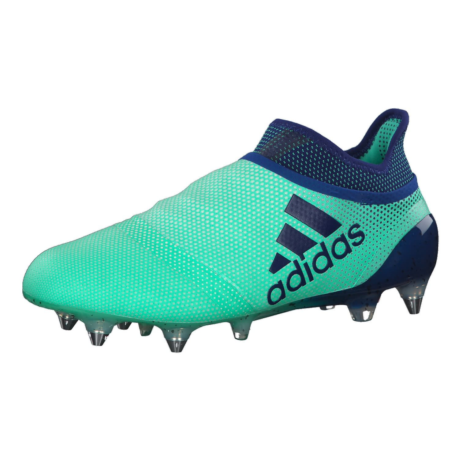 new style ca530 876fe adidas Performance Mens X 17+ Soft Ground Football Boots - Green