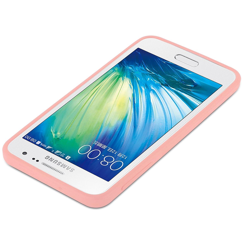 def4803a0fe Cadorabo Funda para Samsung Galaxy A3 2015 en Candy Rosa: Amazon.es:  Electrónica