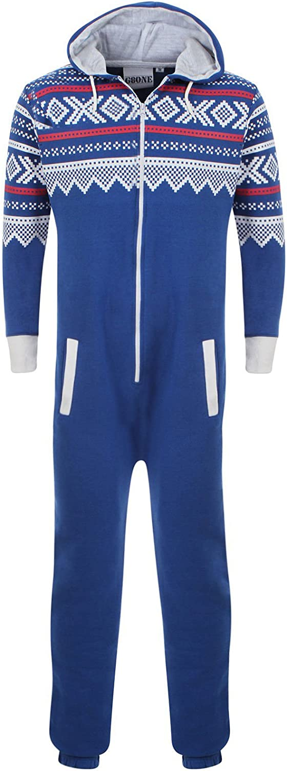 Fashion Oasis Childrens Unisex Boys Girls Kids Plain Onesie Hooded All in One Jumpsuit Sizes 7-14