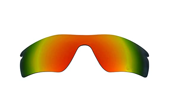 edd2a6f1cc84c Best SEEK Polarized Replacement Lenses for Oakley RADAR PITCH Fire Red  Mirror  Amazon.co.uk  Clothing