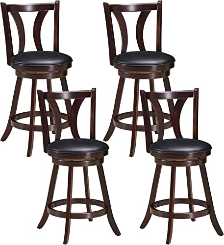COSTWAY Bar Stools Set of 4