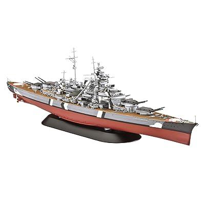 Revell of Germany Battleship Bismarck Plastic Model Kit: Toys & Games