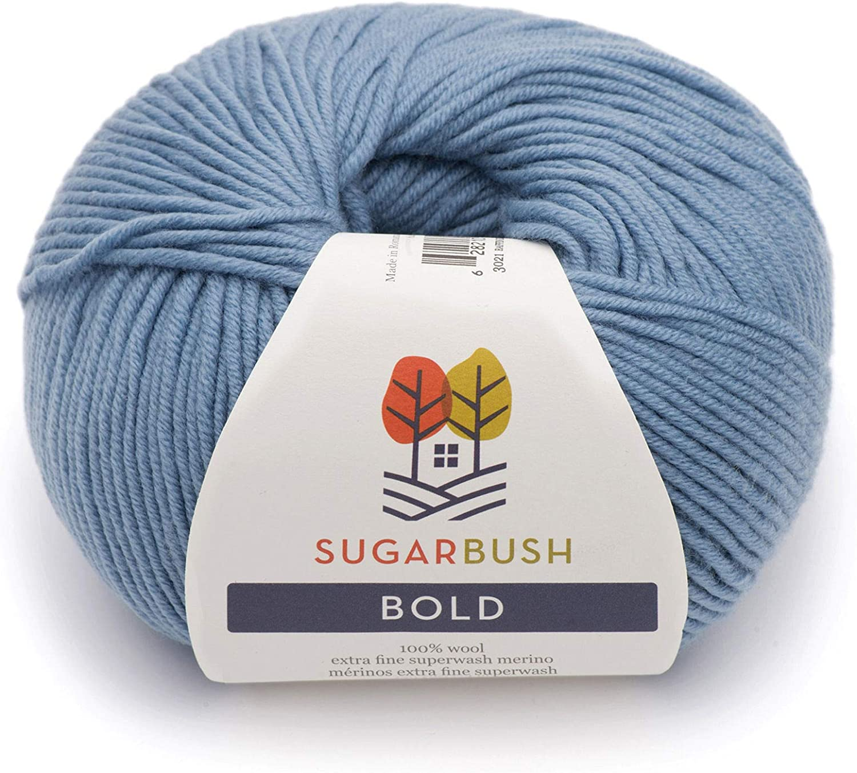 Lavender Frost Sugar Bush Yarn Bold Knitting Worsted Weight