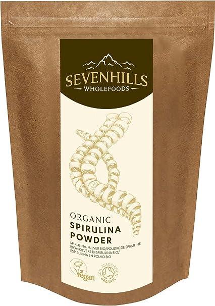 Sevenhills Wholefoods Espirulina En Polvo Orgánico 1.5kg