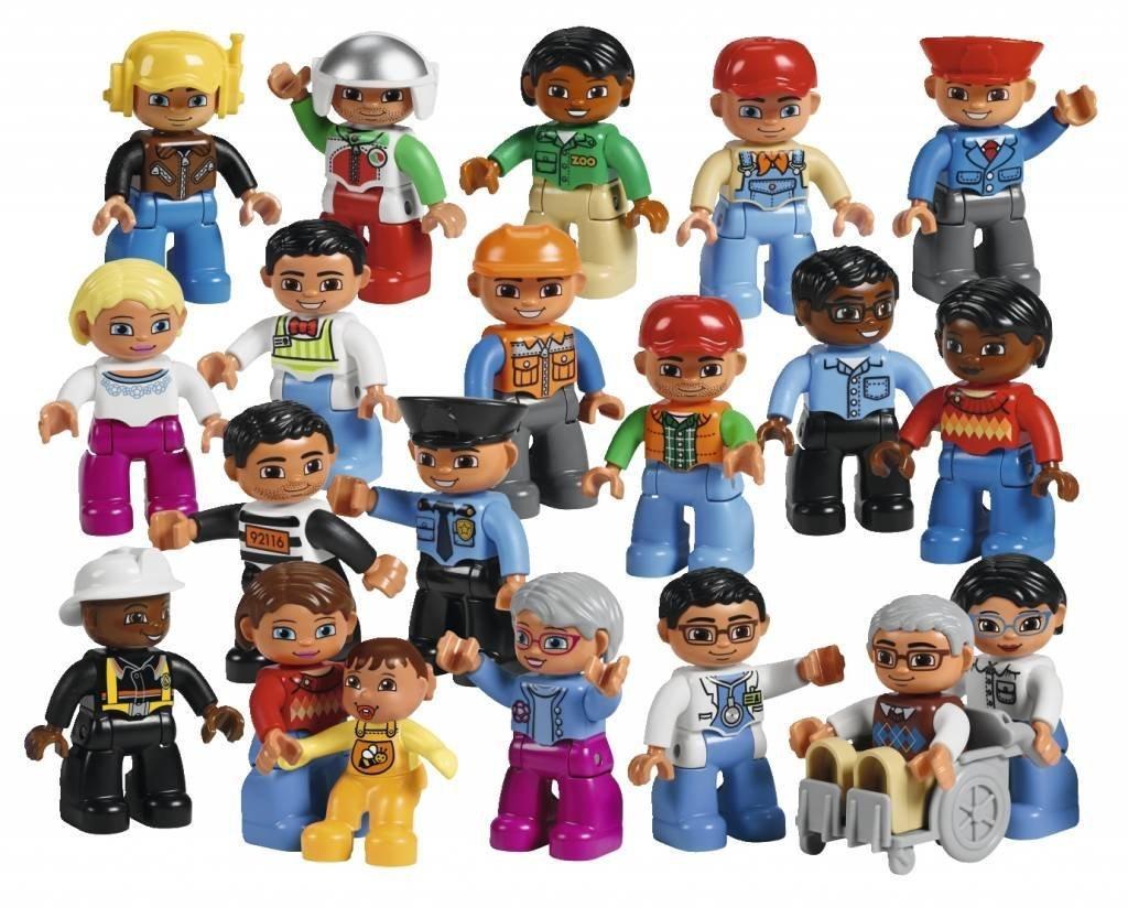 LEGO レゴ デュプロ はたらく人たち 45010 【国内正規品】 V95-5263   B01N5VUS2B