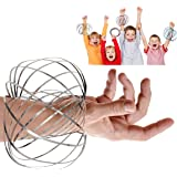 JRD&BS WINL Flow Ring Kinetic 3D Spring Magic Toy-Best Gifts for Kids