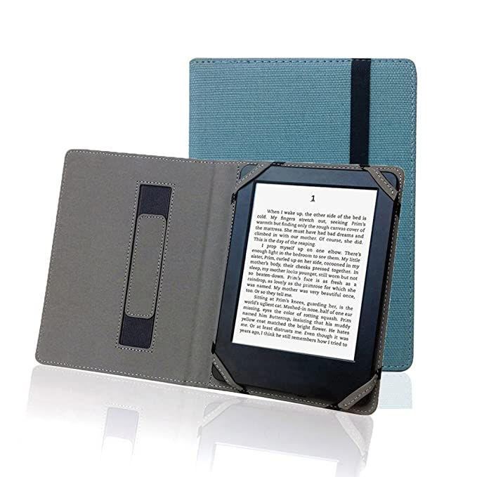 ENJOY-UNIQUE - Funda de Lino y cáñamo Natural para eReader Onyx ...