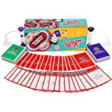 BESTOYARD Speak Out Game Mouthguard Party Card Game - Includes 6 Mouthpieces, 177 Phrase Cards, Hourglass Timers and Game Rules