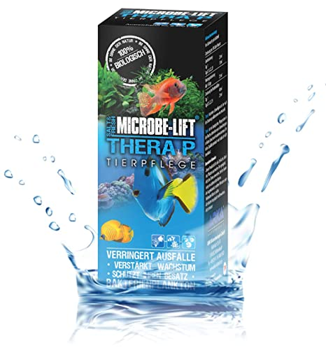 MICROBE-LIFT TheraP – Cuidado para peces (para un cuidado óptimo de peces en acuarios de agua dulce ...