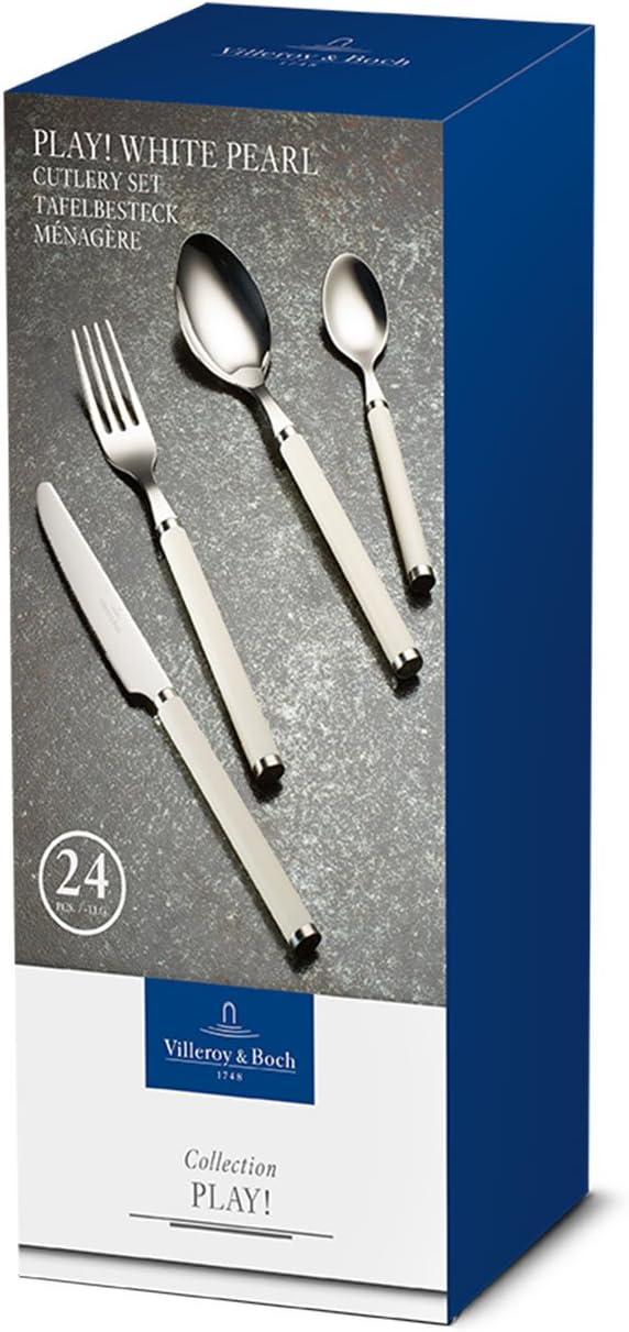 Blue Ocean 24 Piezas Acero Inoxidable Mango de pl/ástico Azul Cuberter/ía para hasta 6 Personas Villeroy /& Boch Play