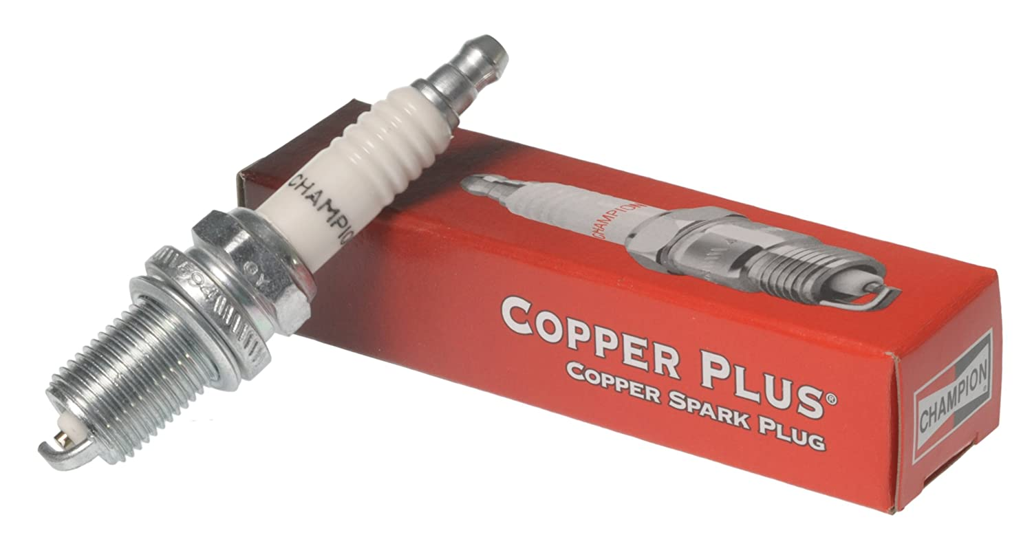 Amazon.com: Champion RE16MC (443) Copper Plus Spark Plug, Pack of 1: Automotive