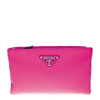 a9b7bd29eb22 Amazon.com: Prada Women's Small Padded Nylon Clutch Pink: TheLuxuryClub