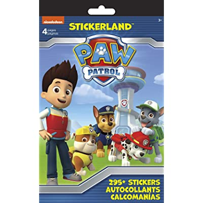 Trends International PAW Patrol Stickerland Pad - 4 Pages, Multi: Toys & Games