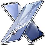ESR Cover Samsung Galaxy S9+/S9 Plus [Supporta la Ricarica Wireless], Custodia Trasparente Morbida TPU [Ultra Leggere e Chiaro] Silicone Ultra Sottile Case per Samsung Galaxy S9+/S9 Plus.