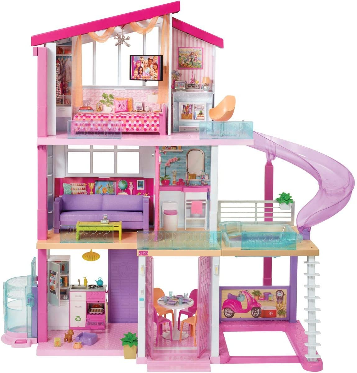 FAST DELIVERY MADE IN AMERICA MAKING PRETTY Dollhouse Picture Miniature Art
