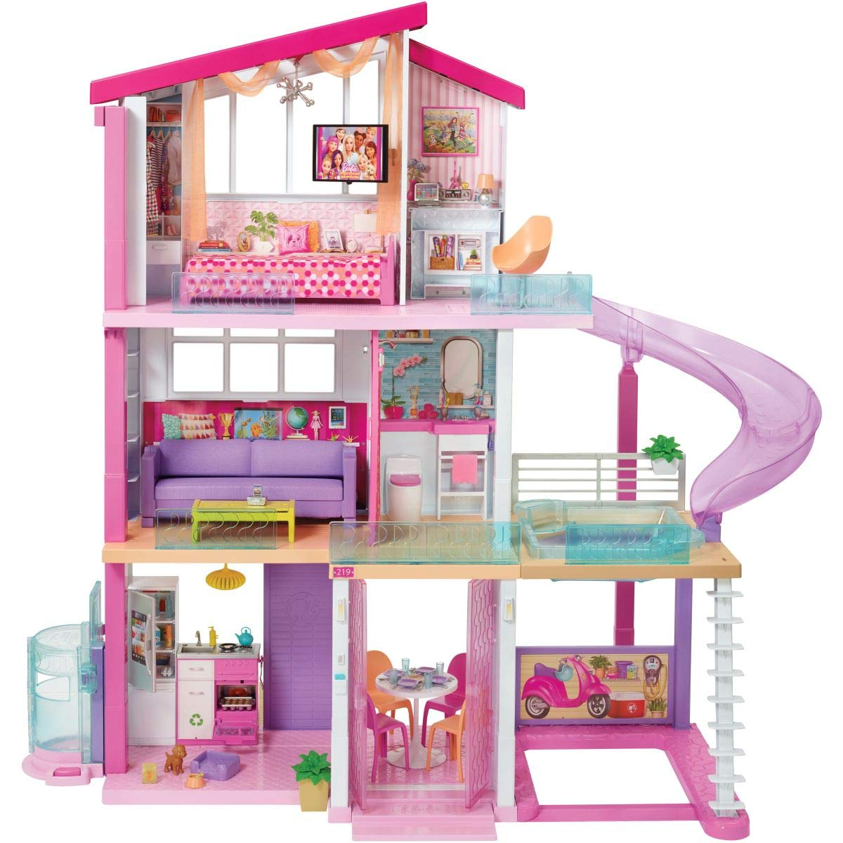 Barbie New Dream House Barbie Career Doll Chef Doll Buy Online In Bangladesh At Bangladesh Desertcart Com Productid 203864120