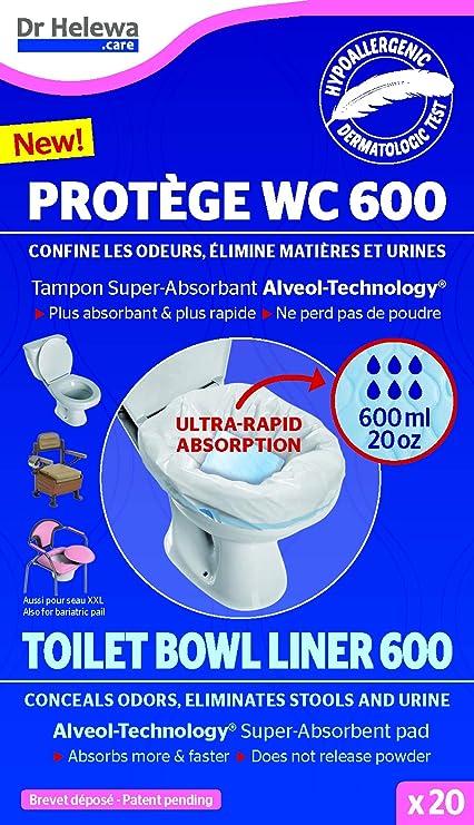 Care Bag - Bolsas higiénicas para inodoro seco: Amazon.es: Coche y ...
