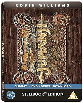 Jumanji - Limited Edition Steelbook Blu-ray Includes DVD & Digital ...