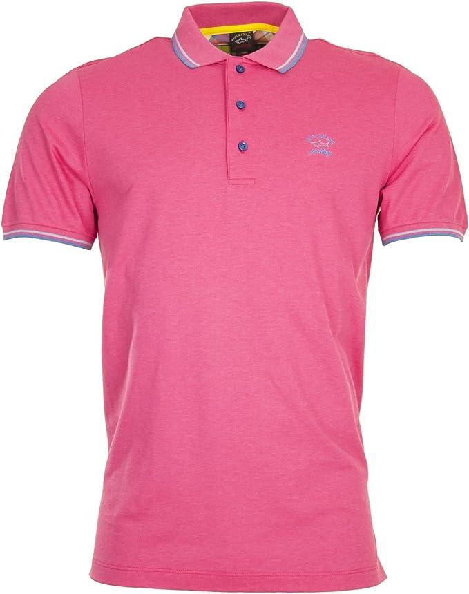 Paul & Shark - Polo - para hombre rosa rosa: Amazon.es: Ropa y ...