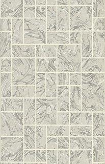 holden decor marble tile muster kunstleder effekt kche badezimmer vinyl tapete grey 89251 - Fliesen Tapete Kuche