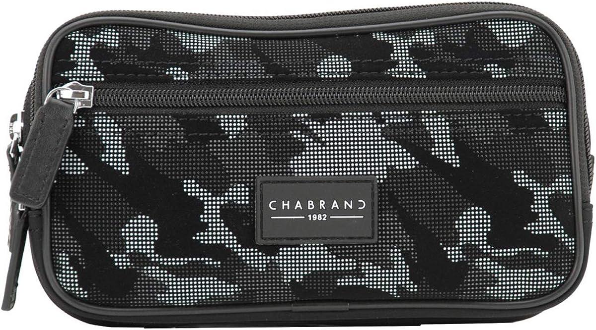 Chabrand BANANE ARMY CAMOUFLAGE NOIR//GRIS EN TOILE