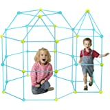 CREPRO Fort Building kit for Kids, 120 Pieces Ultimate Forts Builder Gift Kid Construction Toys for Boys and Girls to…