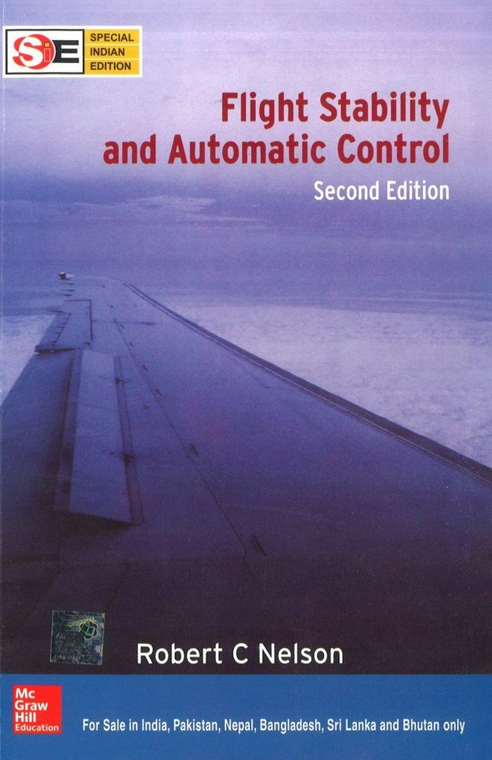 Flight Stability and Automatic Control: Robert Nelson: 9780070661103 ...