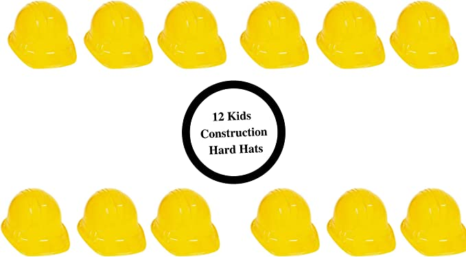 Amazon.com: Kit de decoración para fiestas de construcción ...