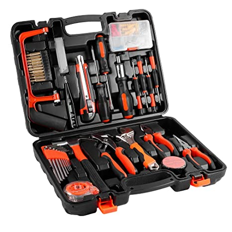 a2492ff5b17 100-Piece Home Tool Kits OUTAD Multi-functional   Universal 100 IN 1  Precision