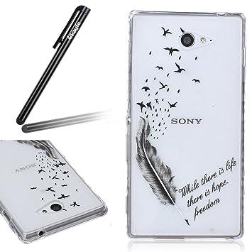 Carcasa para Sony Xperia M2, Sony Xperia M2 Soft Gel TPU ...
