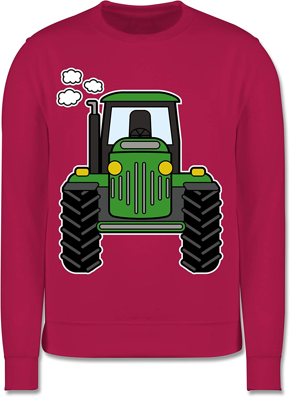 Fahrzeuge Kind Shirtracer Traktor Front Kinder Pullover