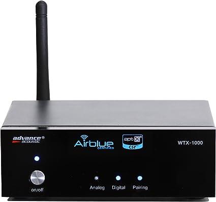 Advance Acoustic WTX 1000 - Módulo receptor de audio por Bluetooth (APTX/AD2P), color negro: Amazon.es: Electrónica