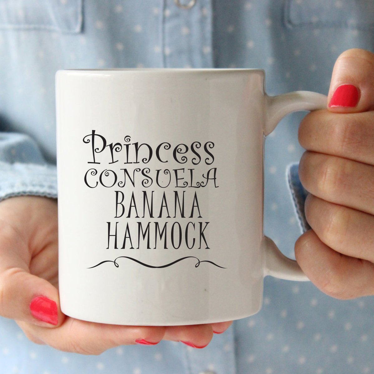 Princess Consuela Banana Hammock & Crap Bag Couples Funny Coffee Mug Set 11oz - Friends TV Show Quote - Central Perk - Unique Gift For Boyfriend and Girlfriend - His and Hers Anniversary Present by Gelid (Image #2)