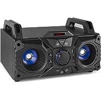 Fenton MDJ95 Partystation 100 Watt op Accu met Bluetooth, USB, AUX en MP3 Speler