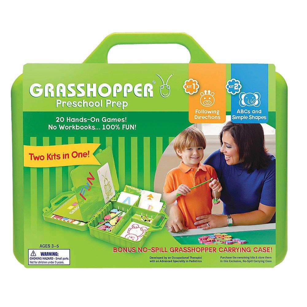 Amazon.com : Grasshopper Preschool Prep Kids Snip, Glue and Grow ...