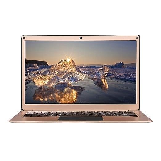 Yepo 737A -(portátil Windows 10 de 13.3 Pulgadas,6GB RAM+256GB SSD,portátil ultradelgado,Pantalla IPS 1920*1080,Quad Core Intel J3345) Oro: Amazon.es: ...