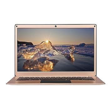 Yepo 737A -(portátil Windows 10 de 13.3 Pulgadas,6GB RAM+256GB SSD,portátil ultradelgado,Pantalla IPS 1920*1080,Quad Core Intel J3345) Oro
