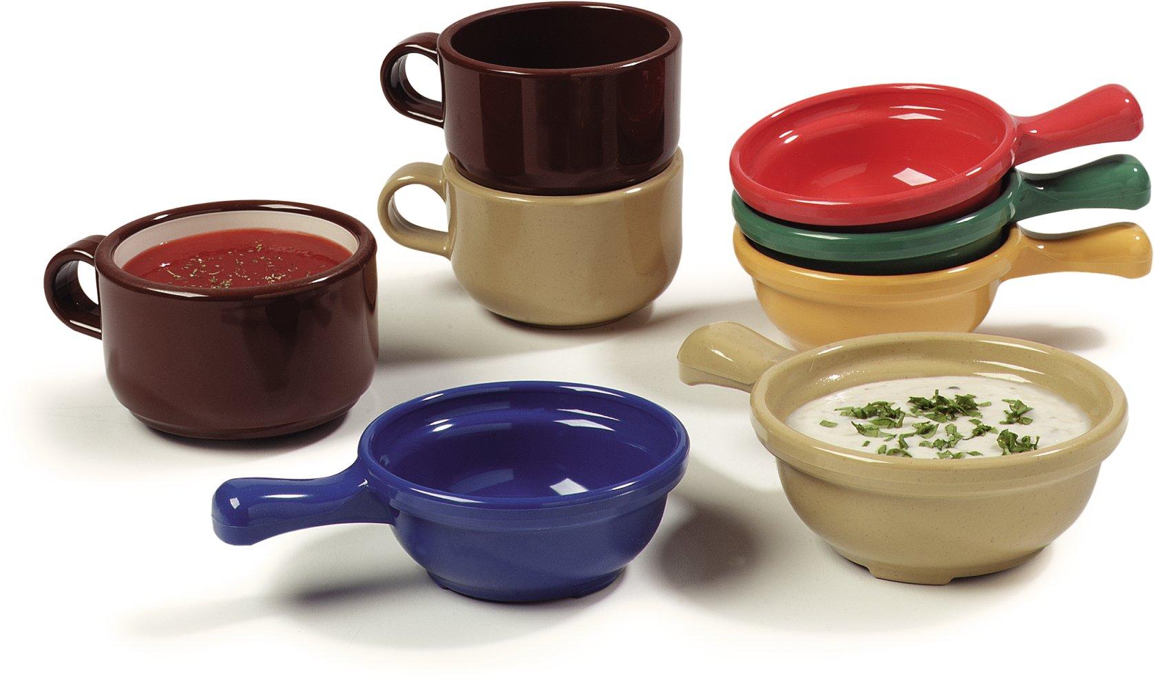 Carlisle 700614 Plastic Handled Soup Bowl, 8 oz., Ocean Blue (Pack of 24) by Carlisle (Image #7)