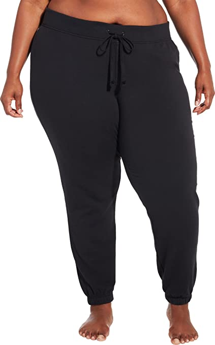 89c69d7ac1dab Amazon.com : CALIA by Carrie Underwood Women's Plus Size Effortless Jogger  Pants (2X, Caviar) : Sports & Outdoors